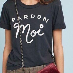 """SOL ANGELES """"Pardon Moi"""" T-shirt"""